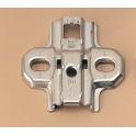 Cale croix acier a visser s/vis ep2mm