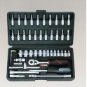 Coffret 46 pieces en 1/4 ref 911 0646