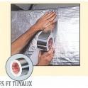 Ruban adhesif aluminium 50mmx50m ref cof 130400