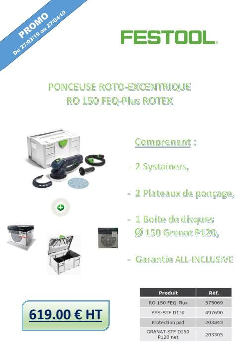 RO 150 FEQ-PLUS ROTEX