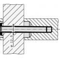 Kit montage porte 40mm mu 1-1a